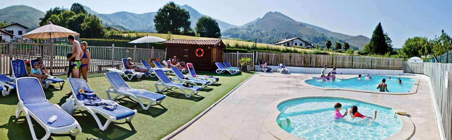 location camping piscine pays basque
