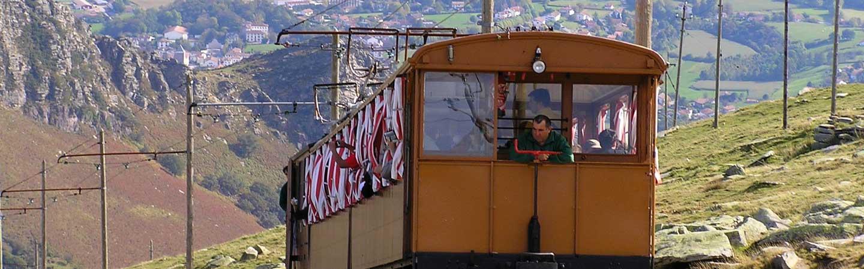 randonnée train la rhune pays basque