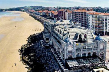 visite plage hendaye pays basque